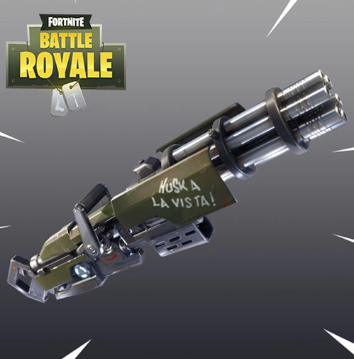 Fortnite 2.4.0 Update – New Minigun Weapon