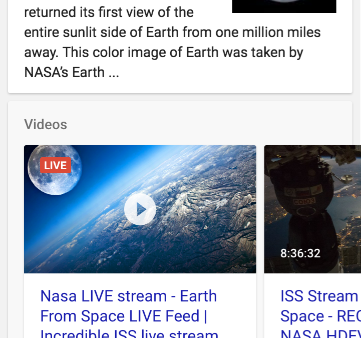 Is Google's new Live Stream structured data and indexing API going to change the game?